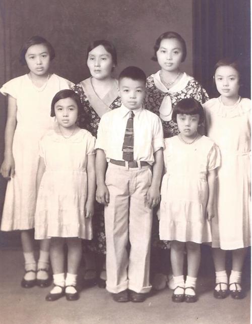 Janice Koizumi and family