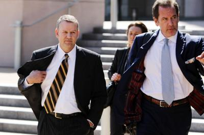 Darain Atkinson leaves federal courthouse