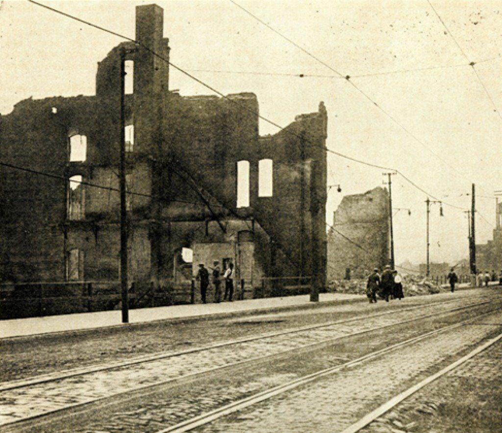 The 1917 East St. Louis race riot