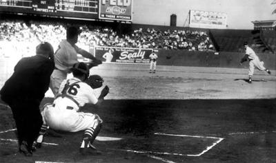 1952: Stan the man could pitch in