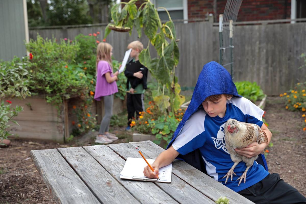 MRH has a full-time garden teacher