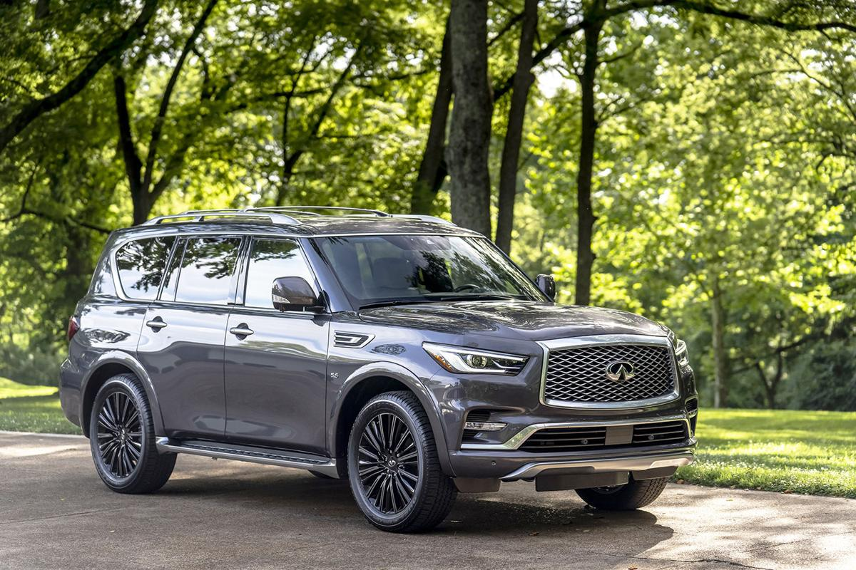 2020 Infiniti QX80: It may be a brawler under its fancy linen, but it sure cleans up good
