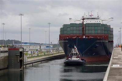 Panama Canal opens $5B locks, bullish despite shipping woes