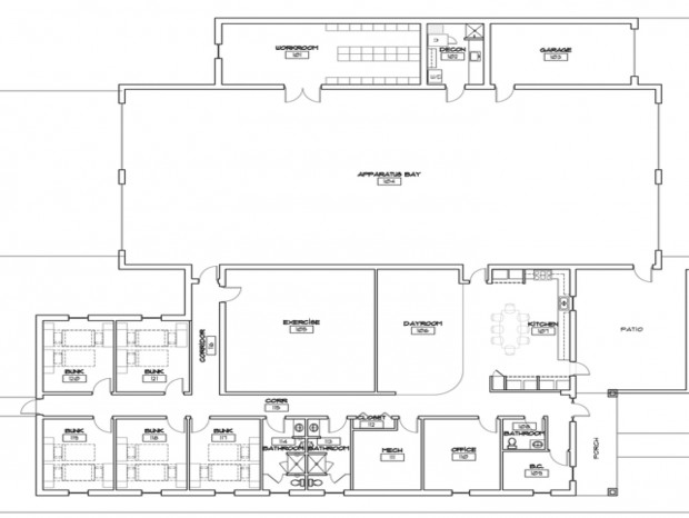 Central County proposes new fire station in St Peters – Fire Station Floor Plans