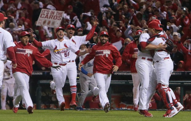 Cardinals v Dodgers, NLCS Game 6