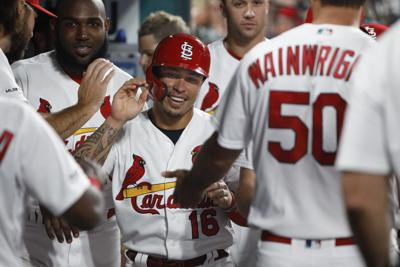 Cards and Brewers battle at Busch