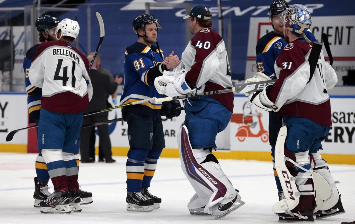 Blues swept from playoffs