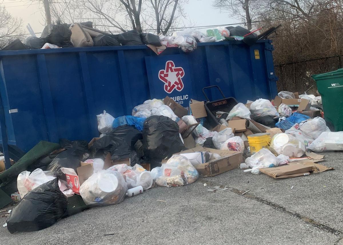 Pinnacle Ridge trash piles up