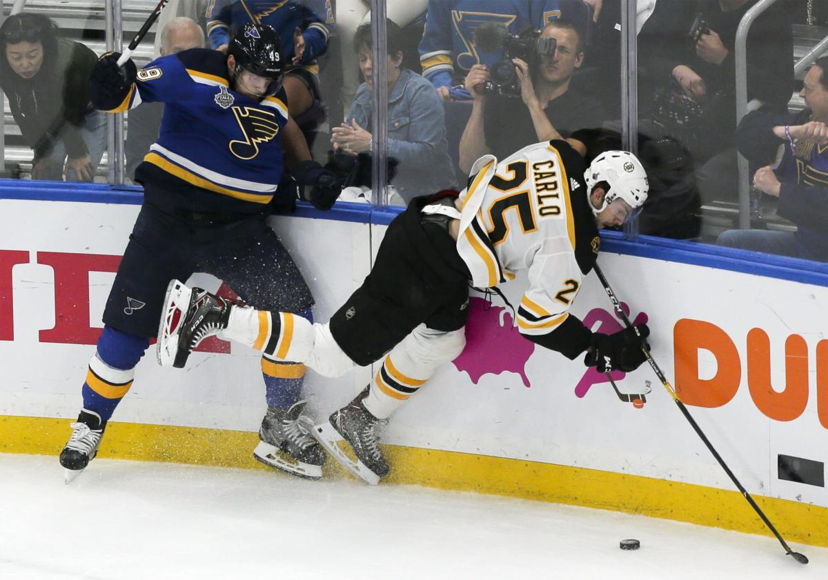 Blues take on Bruins Game 4 of the Stanley Cup Finals