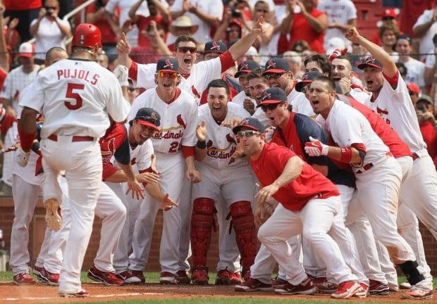 Pujols welcome home Cardinals 3, Cubs 2