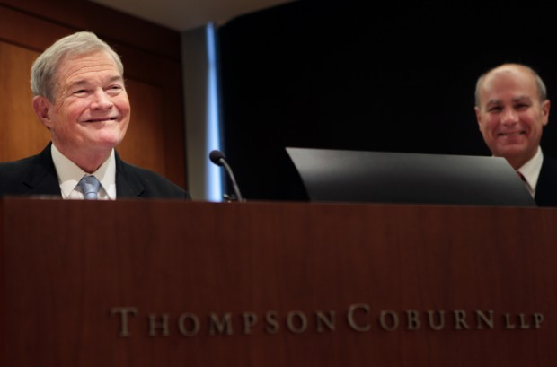"Senator Christopher ""Kit"" Bond joins Thompson Coburn law firm"