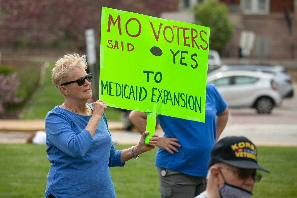Rally to support Medicaid expansion at Missouri Capitol