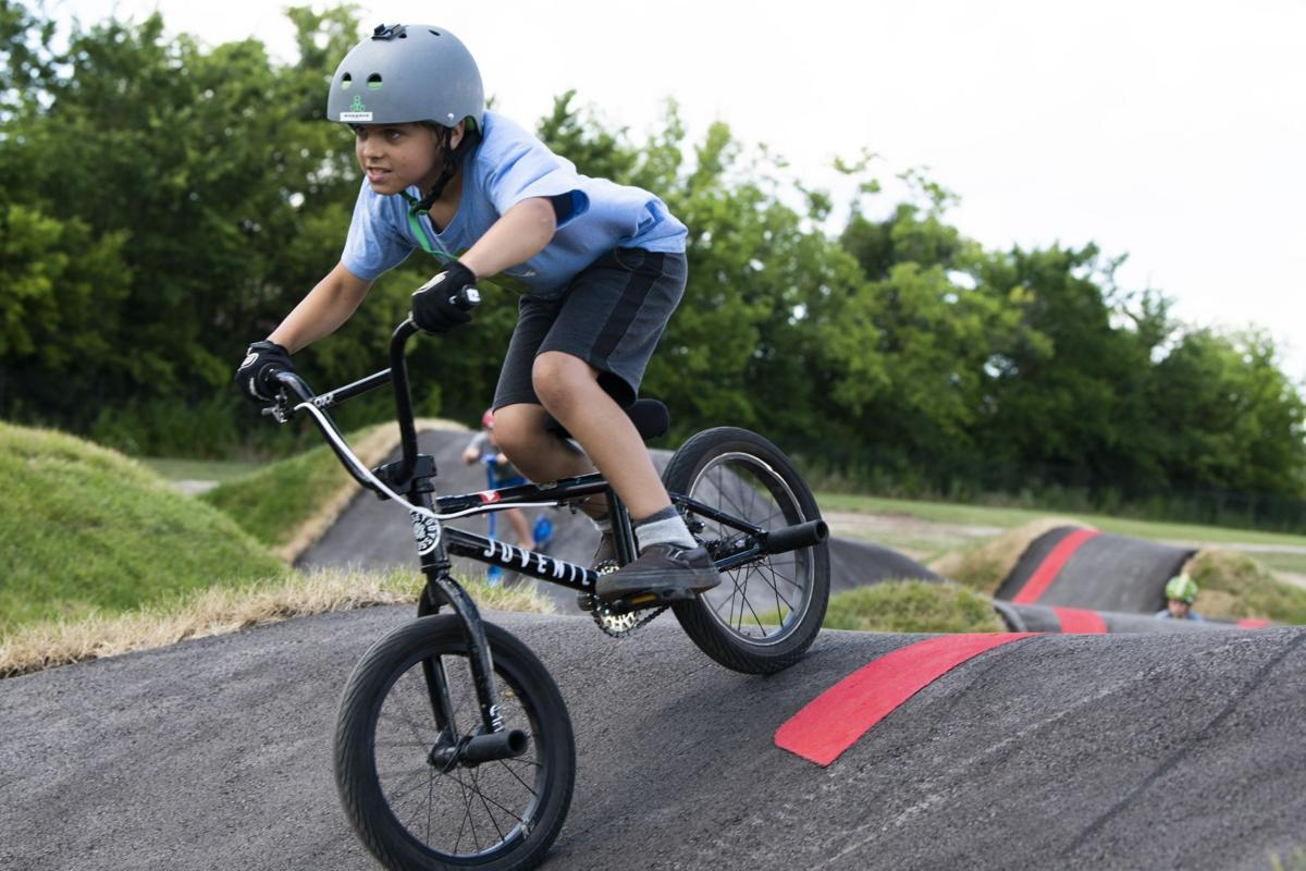 Youth Activity Park opens country's biggest pump track
