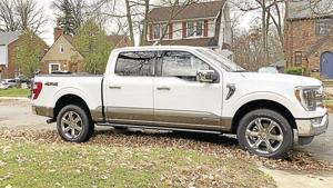 2021 Ford F-150 King Ranch Hybrid.