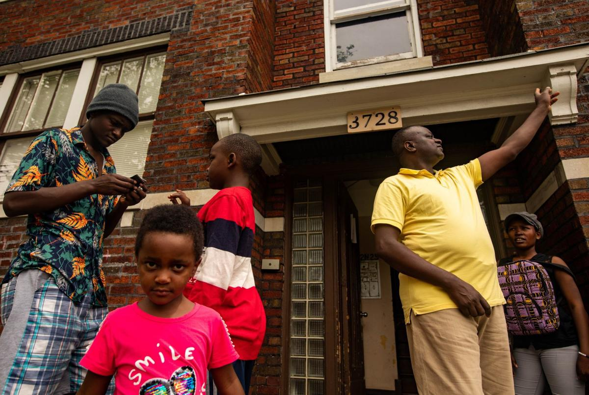 Refugee family arrives in St. Louis admist the pandemic