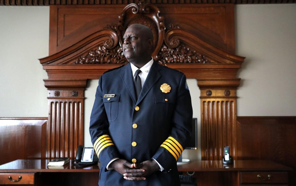 Newly appointed St. Louis Police Chief John Hayden