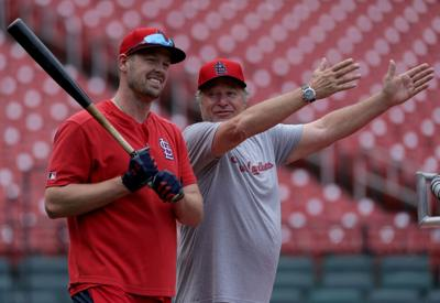 Cardinals work out after All Star break