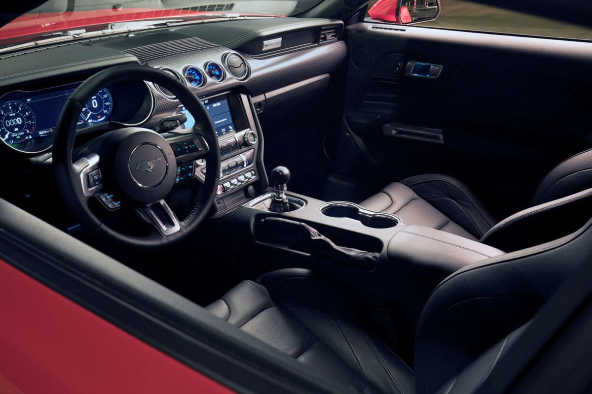 Ford Mustang Gt Compared To  The Level  Performance Pack Takes Mustang To Well The Next Level Automotive Stltoday Com