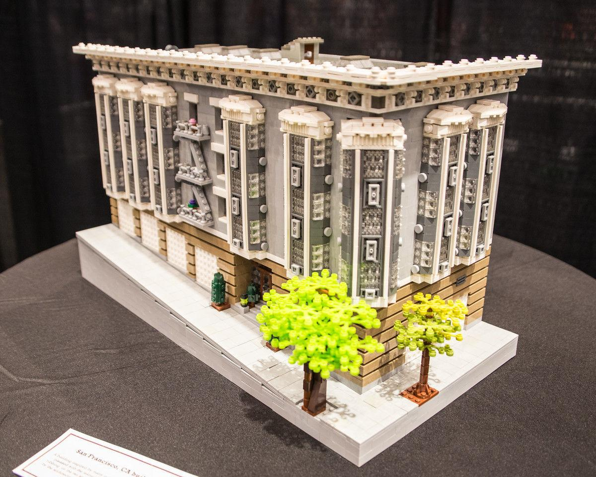 LEGO apartment complex