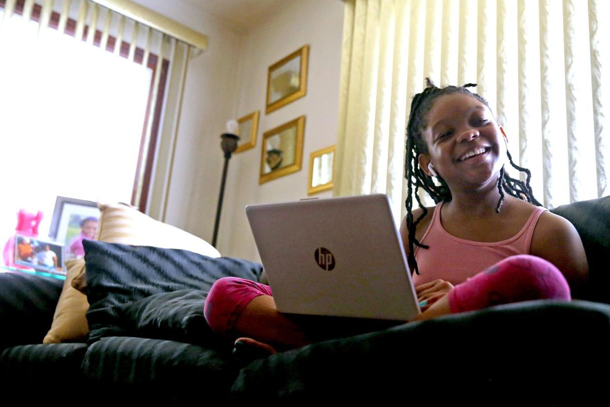 Sparkle excelling at virtual school
