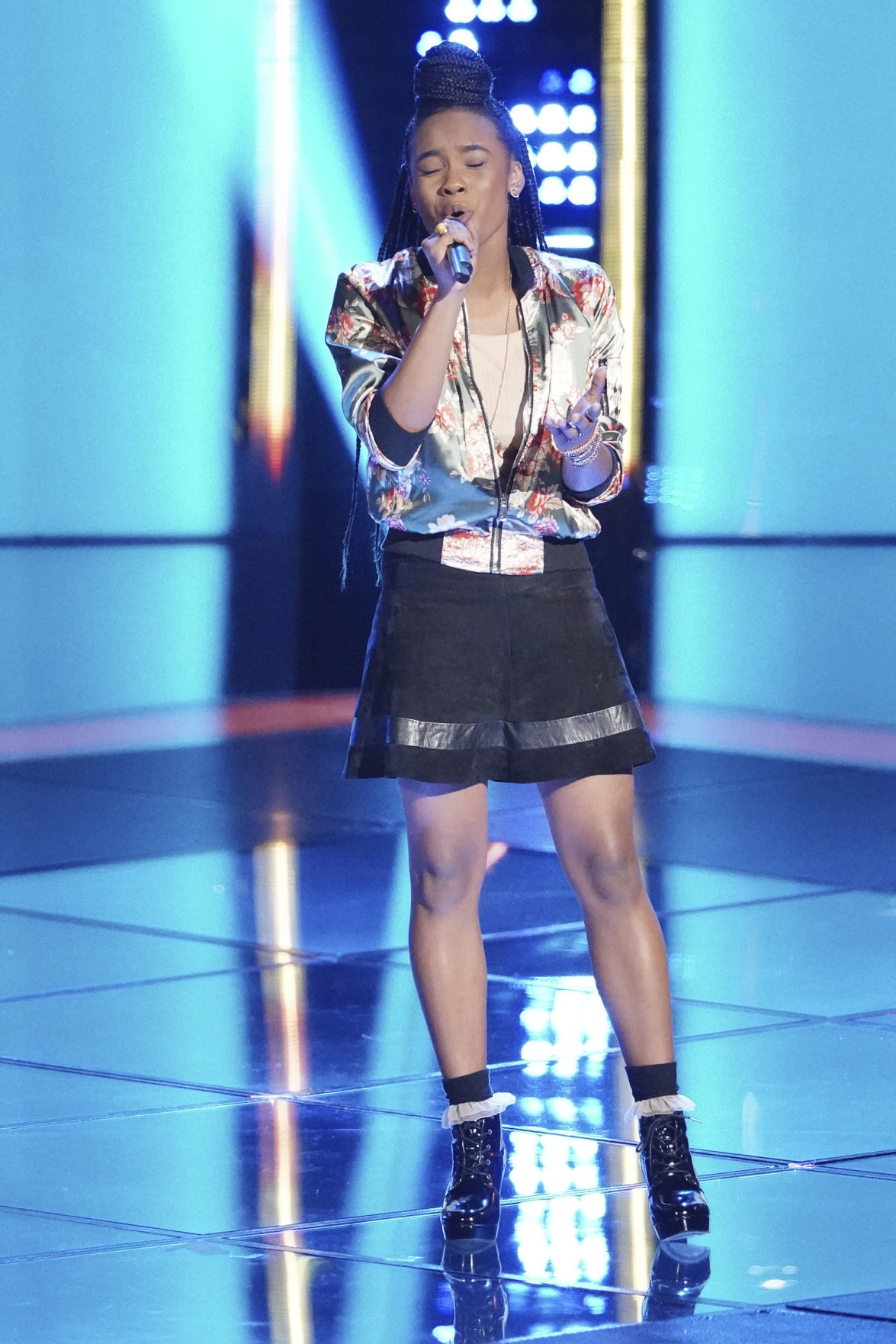 Kennedy Holmes - Blind audition