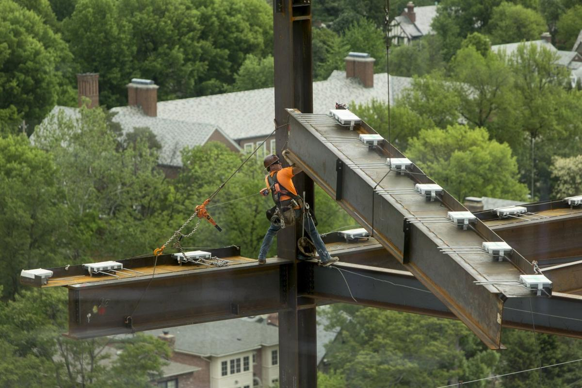 Centene construction in Clayton