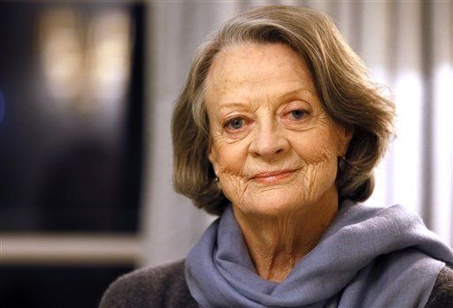 Maggie Smith leaves 'Downton' behind for 'Lady in the Van'