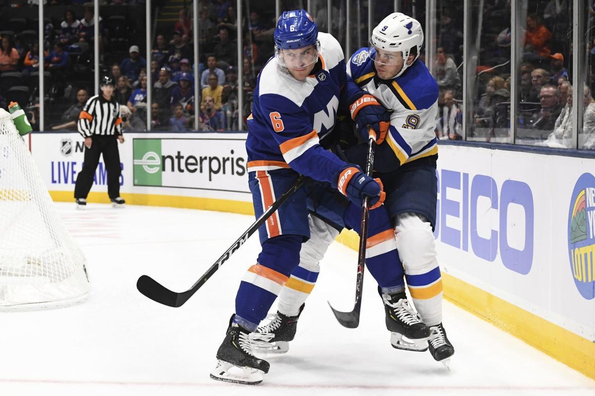 Blues Islanders Hockey