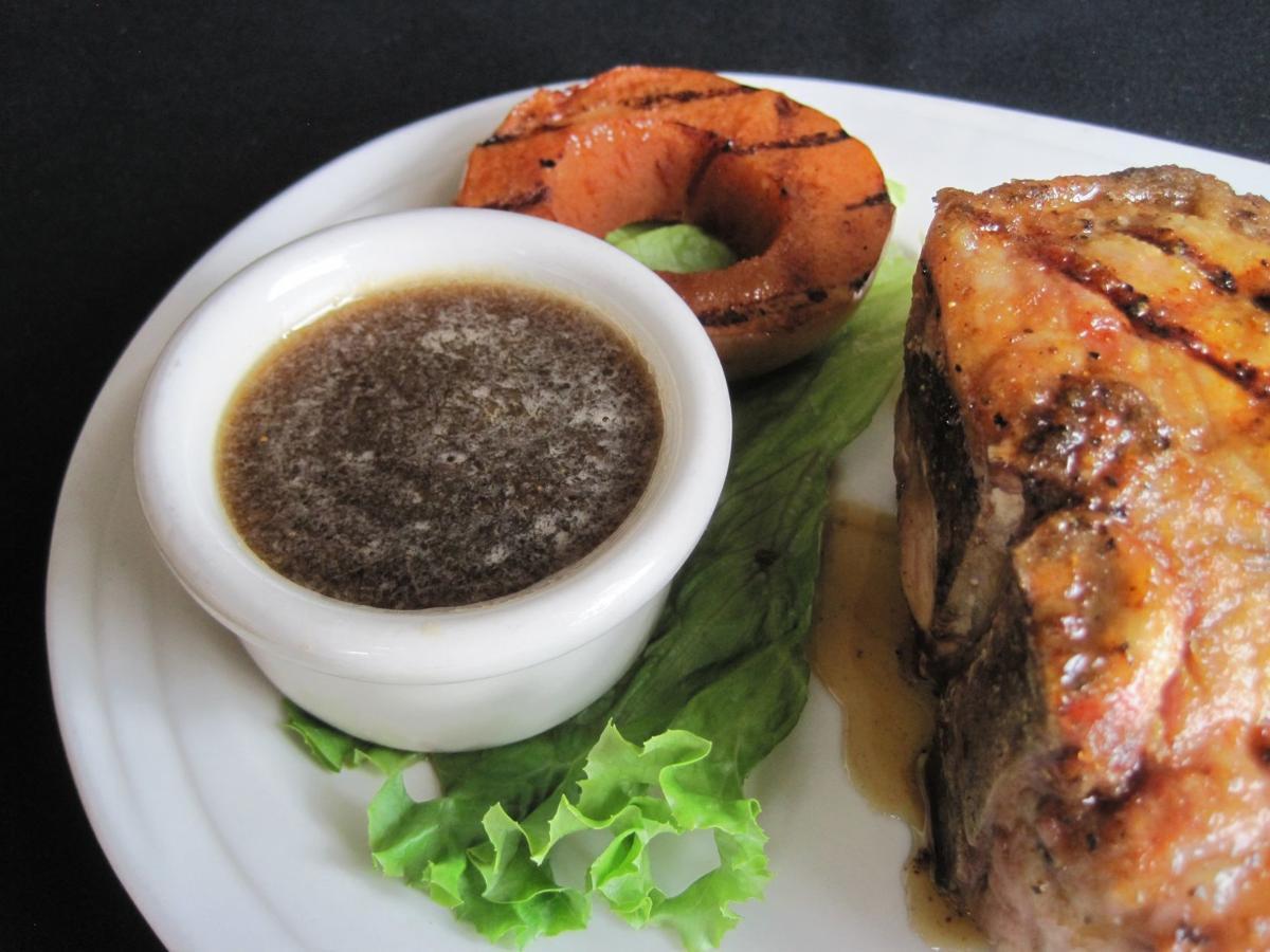 Special Request: Citizen Kane's horseradish glaze makes its hefty pork chops even better