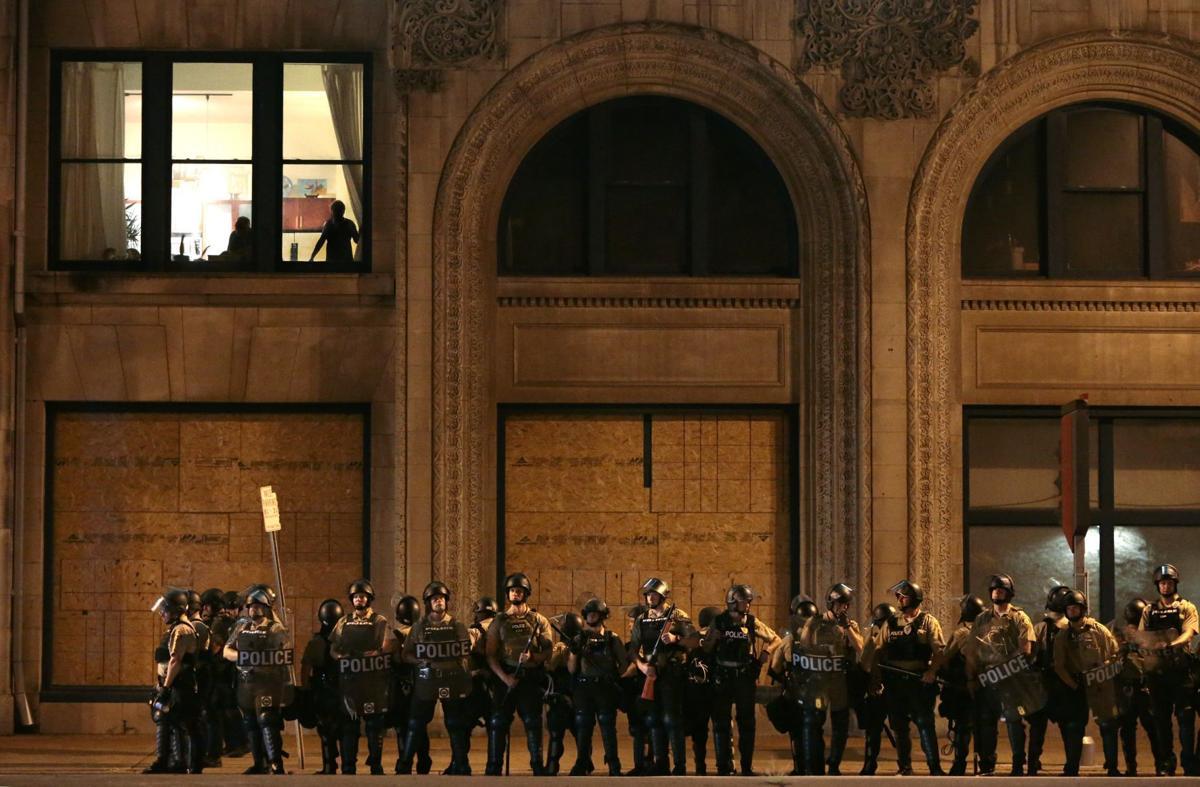 Officers shut down downtown entertainment district