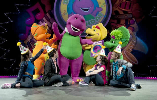 St louis native helps barney improve his dance moves - Bj s wholesale club garden city ny ...