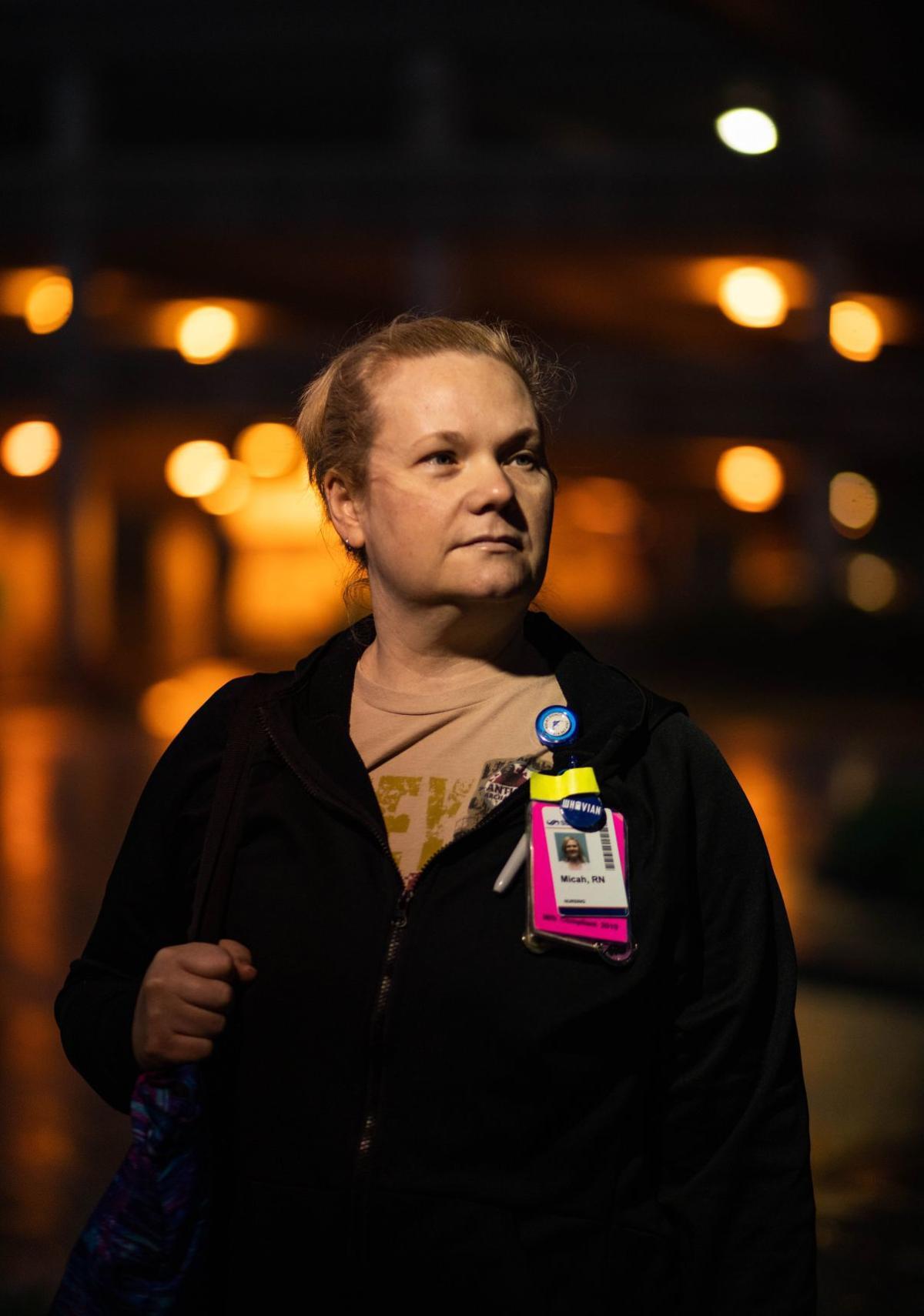 Nurses remain on the frontlines during coronavirus peak in St. Louis