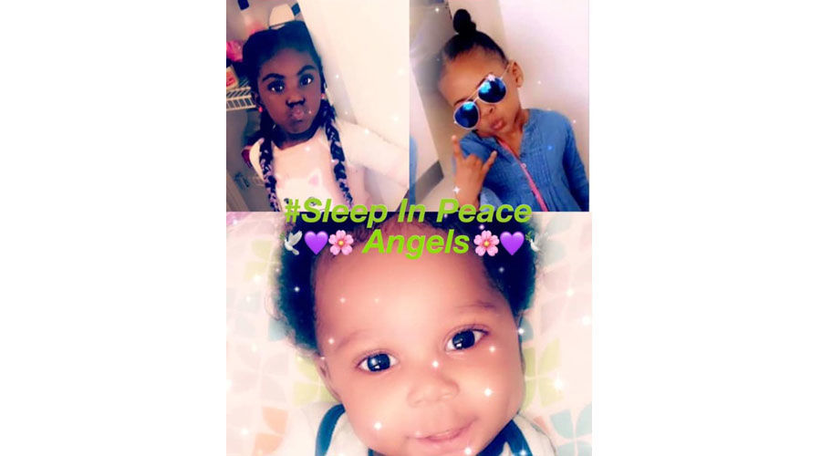 Photo of three children fatally injured in apartment fire in St. Louis