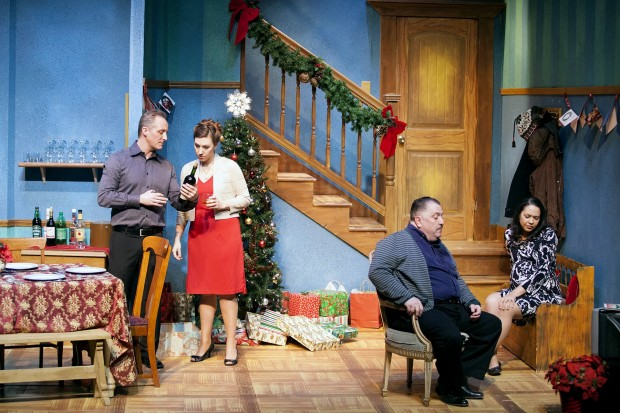 Family tensions swirl through holiday comedy at actors studio seasons greetings m4hsunfo