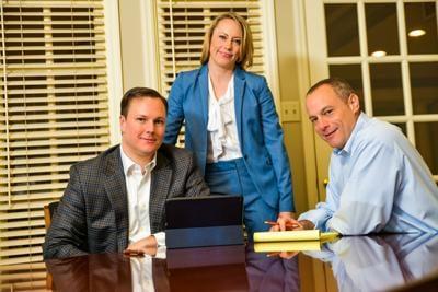 Casey, Devoti & Brockland Partners Matt Casey, Anne Brockland and Matt Devoti