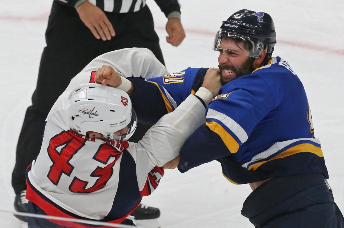 Blues take on the Capitals in preseason game