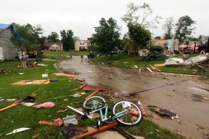 st charles area storm damage gallery. Black Bedroom Furniture Sets. Home Design Ideas