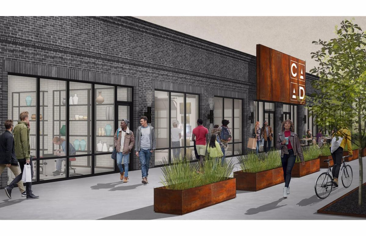 Rendering of new Craft Alliance building