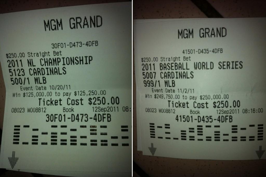 cardinals fan bet on world series