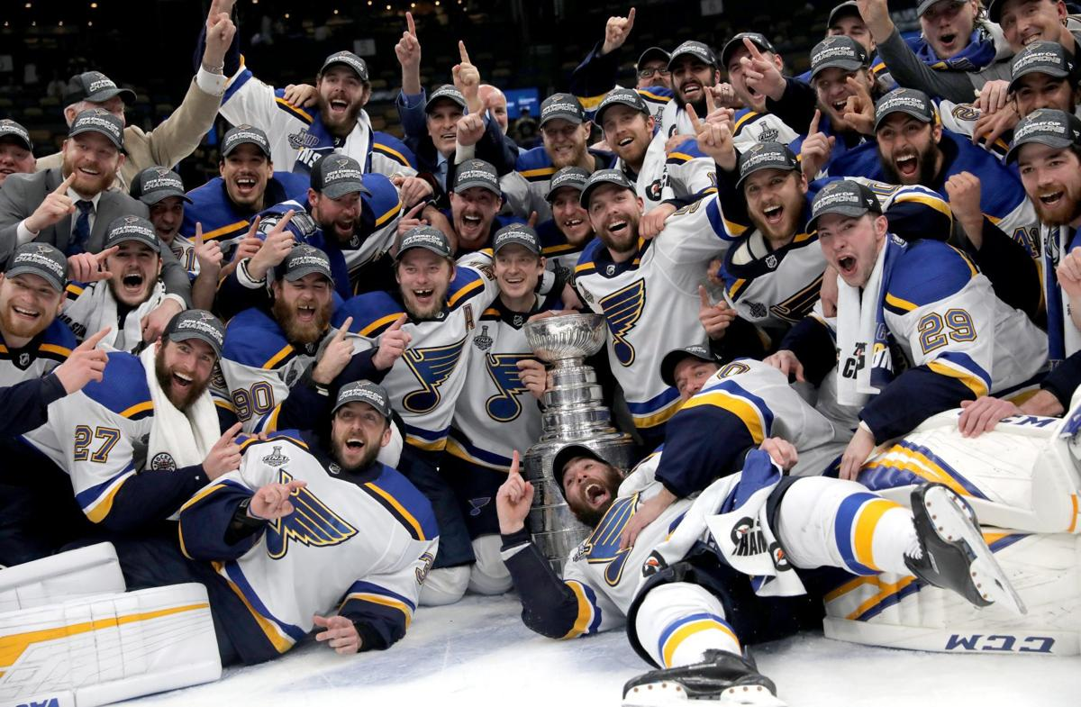 Postgame photos: We Win! St. Louis Blues capture the Stanley Cup