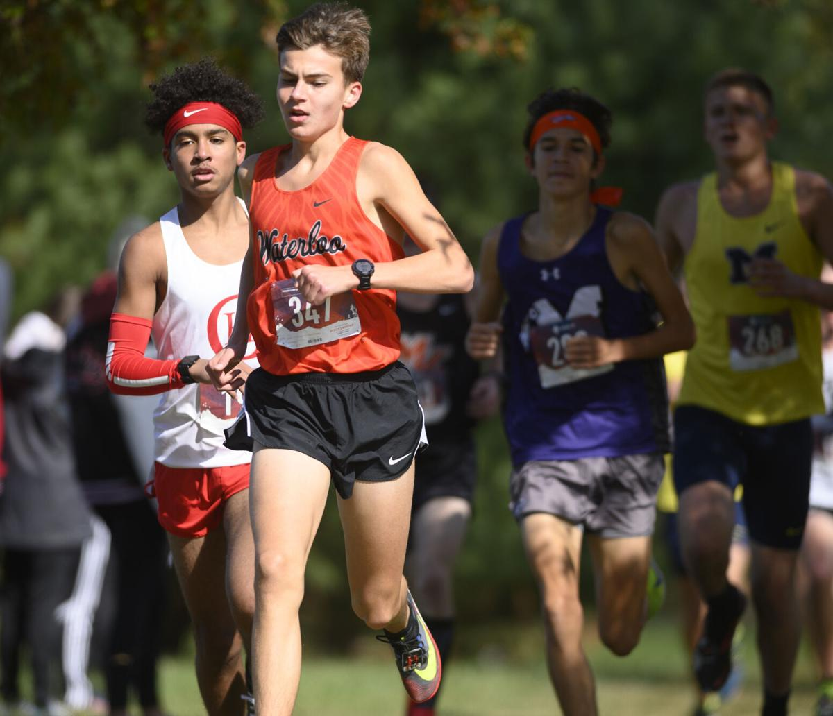Class 2A Highland Regional boys meet