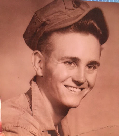 Jim Hellmann as a young man