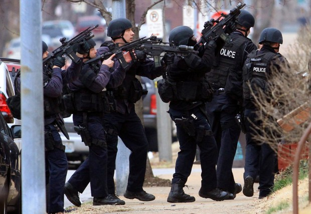 St Louis Marshals Shot