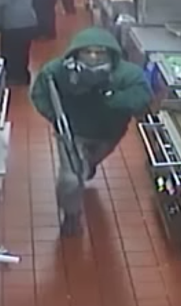 Police need help in identifying surveillance image of a gunman who robbed the McDonald's Restaurant at 1919 S. Jefferson Avenue in St. Louis