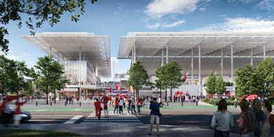 Planned MLS stadium in St. Louis
