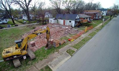 MSD to tear down houses