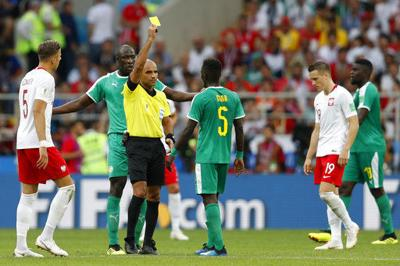 8211d5f67e4f4 FIFA to revisit rule on yellow card elimination | Soccer | stltoday.com