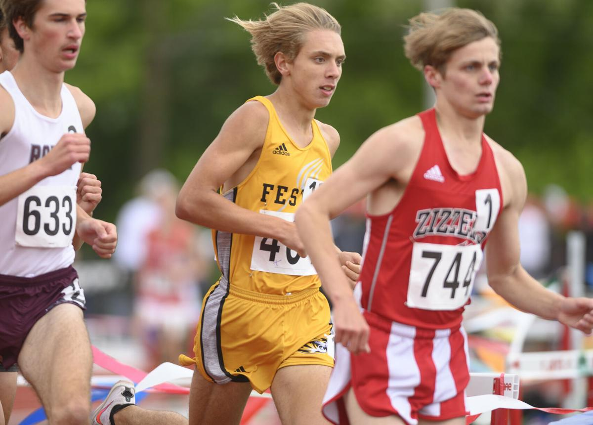 Class 4 boys state track and field meet