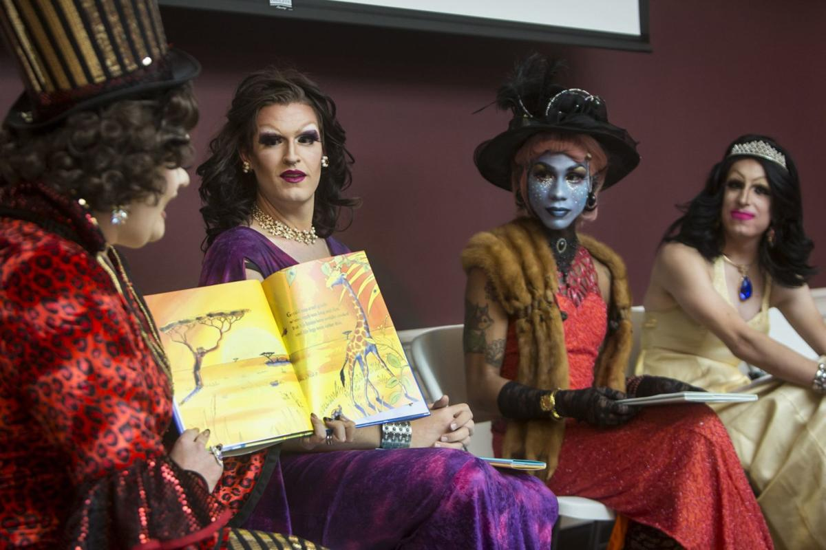 Drag queens read