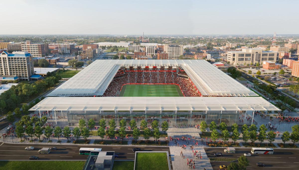 Planned MLS stadium in St. Louis